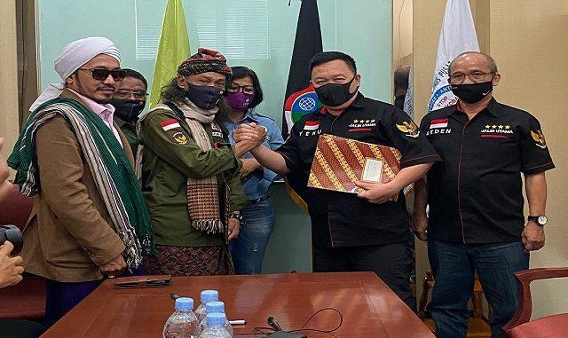 DPP GIAN & MLN-MC3, MOU dengan BPH DPP Komnas Rondanet 110 Mabes Polri, Jumat (17/7/2020)