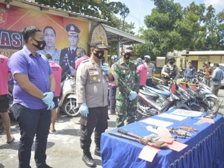 Barbut Puluhan Sepeda Motor, Pemetik dan Penadah di Gulung Tim Puma Polres Lombok Timur