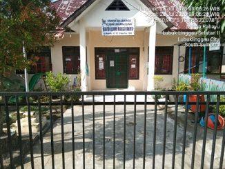 Kantor Lurah Marga Rahayu Pukul 09.15WIB masih dalam keadaan tertutup dan gerbang tergembok
