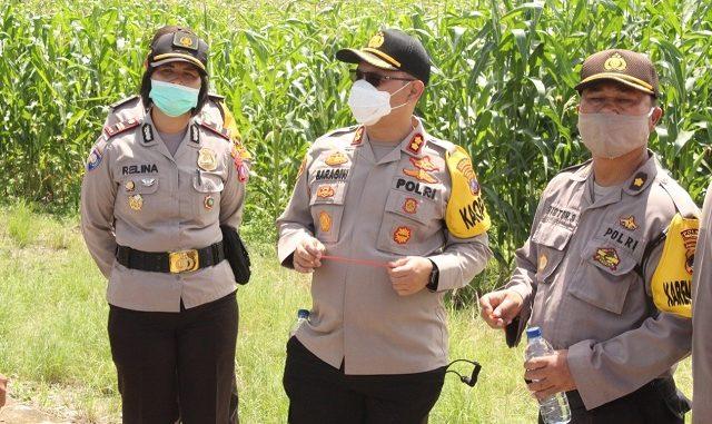 Kapolres Pematangsiantar AKBP Budi P saragih,S.I.K