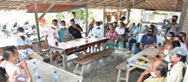 Pengurus Serikat Tolong Menolong (STM) Desa Pon dan Desa Pengalangan, Kecamatan Sei Bamban, Kabupaten Serdang Bedagai, Kamis (16/7/2020) sekira pukul 10:30 WIB.