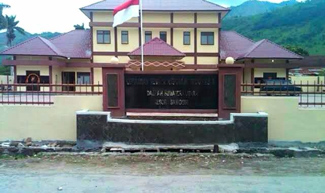 Kantor Kepolisian Resort Samosir