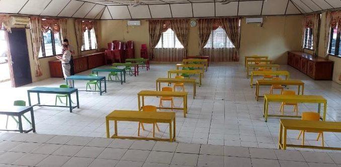Kepolisian Resor Nias menyediakan ruangan belajar serta wifi gratis untuk belajar daring di Aula Mapolres Nias. Hal ini disampaikan Kapolres Nias AKBP Deni Kurniawan, S.I.K, MH, Senin (03/08/2020) di Mapolres Nias.