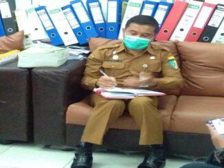 Kepala Dinas Pemberdayaan Masyarakat Desa ( Kadis PMD ) Kabupaten Batu Bara Radiansyah F Lubis, S.sos