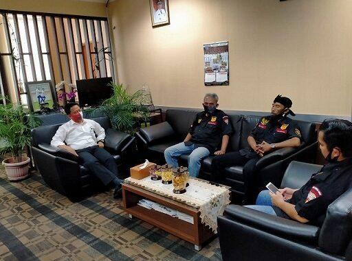 Pengurus DPD Brinus Kota Depok melakukan kunjungan silahturahmi ke Badan Kepegawaian dan Pengembangan Sumber Daya Manusia (BKPSDM) Kota Depok