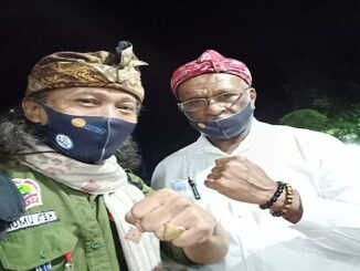 Ketua Umum MC3 Bersama YM Ir Ben Saroi,M.Si Calon Bupati Nabire