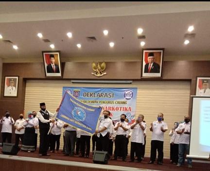 DPC Lembaga Anti Narkotika (LAN) Kota Depok Dilantik
