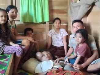 Arina Mendrofa (36) Pikul Derita Tumor Ganas bersama suami dan kelima anaknya yang masih kecil