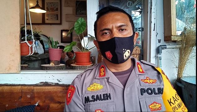 Kapolres Samosir AKBP Muhammad Saleh, S.I.K., M.M