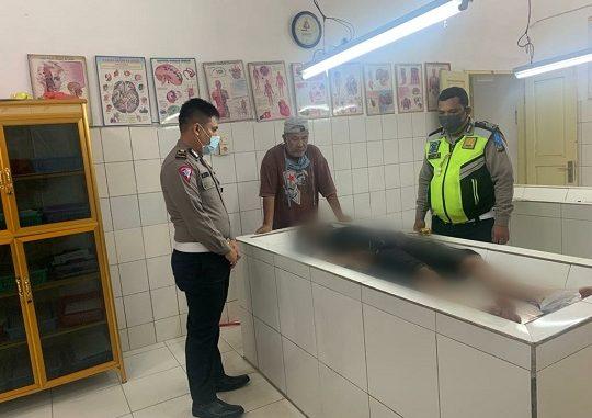 Kecelakaan lalu lintas yang merenggut satu korban jiwa terjadi di Jalan umum km 16-17 jurusan P. Siantar menuju Medan.