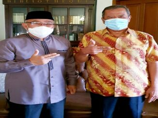 mantan Wali Kota Depok, H Badrul Kamal secara resmi ikut memberikan dukungan kepada Calon Wali Kota Depok, Mohammad Idris.