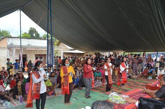 Serikat Tani Kabupaten Samosir merayakan Hari Tani Nasional