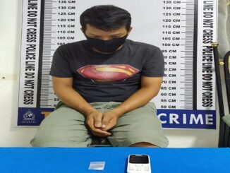 Dahlan (34) di ringkus Tim Opsnal Satres Narkoba Polres Pematang Siantar, Kamis (17/09/2020) sekitar pukul 15.00 WIB.