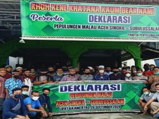 Deklarasi Perpulungen Malau Aceh Singkil Subulussalam dan Pengukuhan Pengurus, Sabtu (26/09/2020)