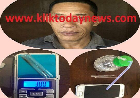 Datok (49) di ciduk Tim Opsnal Satres Narkoba Polres Simalungun, Kamis 24/09/2020) sekira pukul 03.00 WIB
