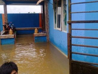 Foto : Banjir di 4 kecamatan di Kabupaten Nunukan (BPBD Kab. Nunukan)
