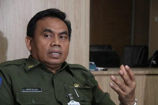 Sekretaris Daerah Provinsi DKI Jakarta Dr. H. Saefullah, S.Pd., M.Pd