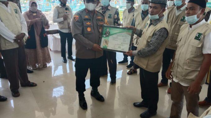 Kapolres Batu Bara, secara resmi telah mengukuhkan kepengurusan 'KSJ' untuk tingkat kabupaten yakni Simalungun, Jum'at (23/10/2020).