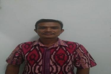 Ketua Forum Pemuda Peduli Raya (FPPR) Jhon Dalton Saragih
