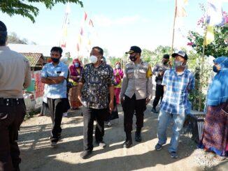 Tim penilai lomba kampung sehat tingkat propinsi NTB melaksanakan penilaian di Desa Pernek Kecamatan Moyo Hulu Sumbawa, pada Selasa (20/10/2020).