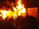 Polda Metro Jaya menyebutkan terdapat 18 pos polisi yang terbakar dalam aksi massa menolak Omnimbus Law yang berujung ricuh pada Kamis (08/10/2020).