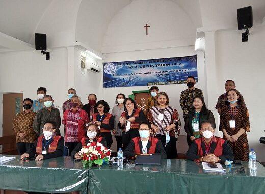 Persekutuan Gereja-gereja Se-Indonesia (PGI_S) Kota Depok kembali melaksanakan sidang tahunan yang di selenggarakan di GKPI Kota Depok , Sabtu (3/10/2020)