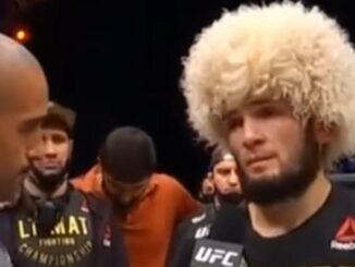 Khabib Nurmagomedov memutuskan pensiun usai menaklukkan Justin Gaethje di UFC 254.