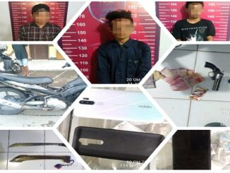 Tiga Pemuda Ditangkap Tim Puma Polres Dompu