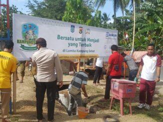 Sukseskan kampung Sehat, Desa Sekotong Tengah Berdayakan PPK Dalam Mengolah Minuman Herbal Serbat di Desanya