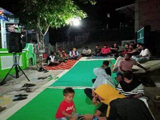 Waka Polres Sumbawa Silaturahim Kamtibmas antar dusun dalam lingkup Desa Jorok, pada rabu malam (21/10/2020).