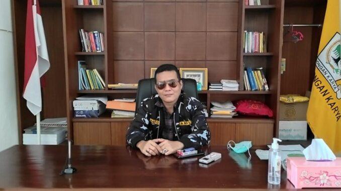 ketua Dewan Pimpinan Daerah Angkatan Muda Pembaharuan Indonesia (DPD AMPI) Kabupaten Simalungun Anton Bostian Butar-Butar