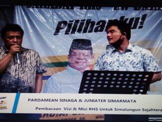Pardamean Simarmata dan Juniater Simarmata