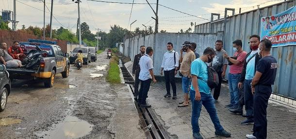 Lokasi Tawuran di depan PT Global jalan Lau Cimba Nagori Rambung Merah Kecamatan Siantar Kabupaten Simalungun Provinsi Sumatera Utara, Senin (16/11/2020) sekira pukul 16.00 WIB