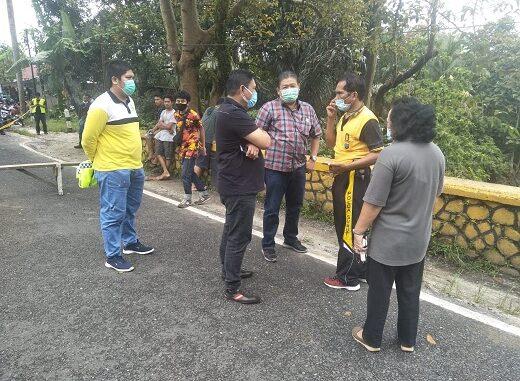 Jalur lintas Siantar-Parapat Km 12 Kelurahan Balata Kecamatan Jorlang Hataran Kabupten Simalungun.