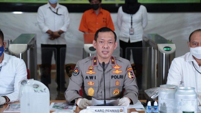 Kepala Biro Penerangan Masyarakat Divisi Humas Polri Brigjen Awi Setiyono