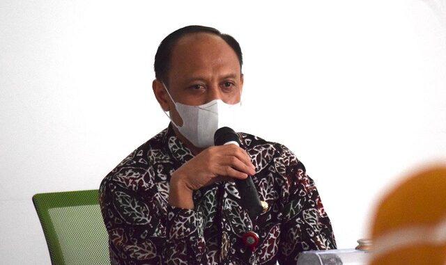 Anang Risgiyanto, SKM., M.Kes, Kadis Kesehatan sekaligus juru bicara Gugus Tugas Percepatan Penanganan Covid-19 Kabupaten Way Kanan