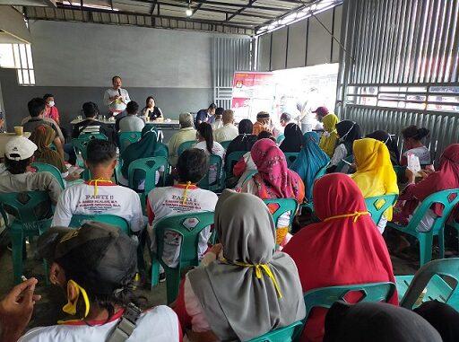 Calon walikota Pematangsiantar Ir Asner Silalahi MT didampingi istri Juliati Br Sihombing kembali menyapa warga Kota Pematangsiantar.