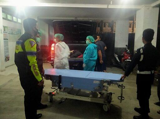 Dua pemuda tewas dalam kecelakaan yang terjadi di Rianiate, Kecamatan Pangururan, Kabupaten Samosir pada Sabtu (21/11/2020)