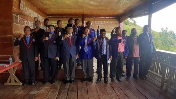 Pelantikan Dewan Pimpinan Cabang ( DPC) Partai Demokrasi Rakyat Indonesia Sejahtera ( PDRIS ) Kabupaten Toba Samosir periode 2020 - 2025, , Kamis (17/12/2020)