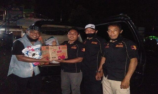 Forum Komunikasi Bhayangkara Indonesia (FKBI), Salurkan Bantuan Kepada Korban Bencana Banjir