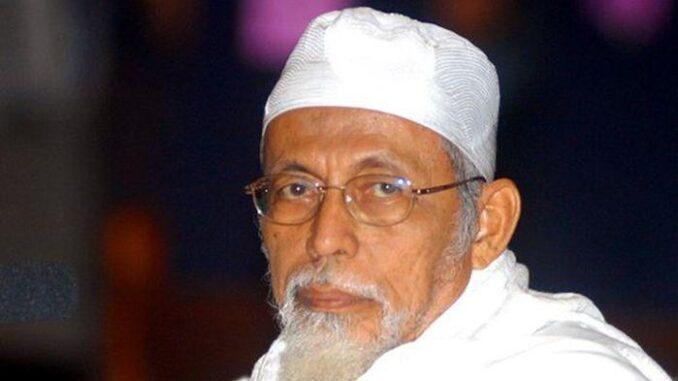 Ustaz Abu Bakar Baasyir (tribunews.com photo)