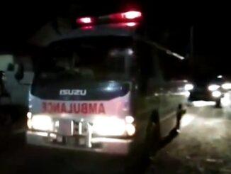 Kedatangan jenazah Asner Silalahi di rumah duka Jl.Sidamanik , Pematangsiantar