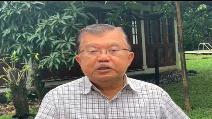 Ketua Umum Palang Merah Indonesia (PMI) Pusat, M. Jusuf Kalla (JK)