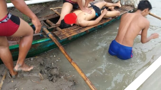 Kapolsek Praya Barat : Korban Tenggelam di Desa Tanak Rarang Tidak Bisa Berenang