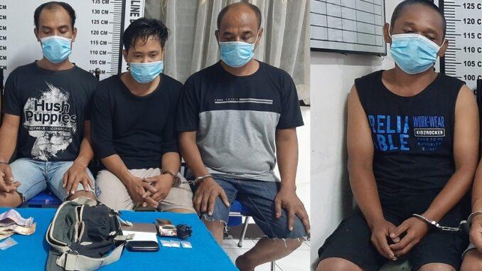 Empat Pelaku Jual-Beli Sabu di Ringkus Polres Siantar