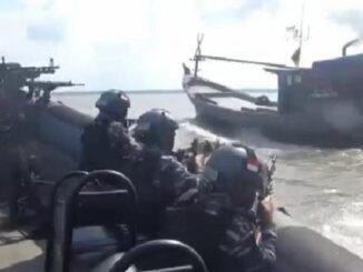 Pembebasan sandera oleh Lanal TBA tersebut adalah rangkaian dari simulasi operasi penindakan kejahatan yang terjadi si laut, jelas Danlanal.