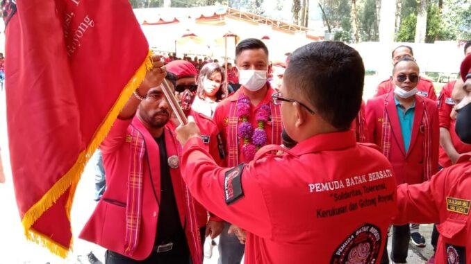 Pelantikan PAC Pemuda Batak Bersatu (PBB) Kecamatan Berastagi