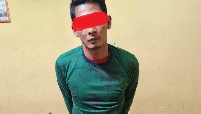TIM Opsnal Sat Res Narkoba Polres Simalungun meringkus DS alias Suro