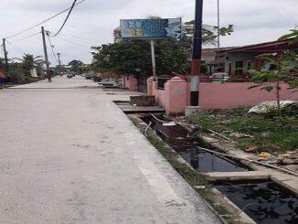 Lokasi Tiang Telkom Indi Home Dipasang di Pekarangan Rumah Tanpa Izin