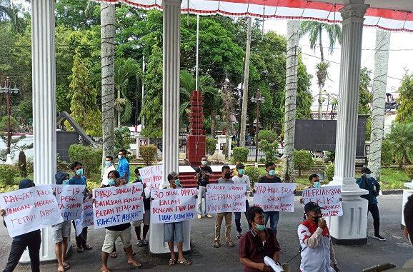 Pemuda Mandiri Peduli Rakyat Indonesia (PMPRI) Kamis (04/03/2021)Sumut menggelar aksi unjuk rasa